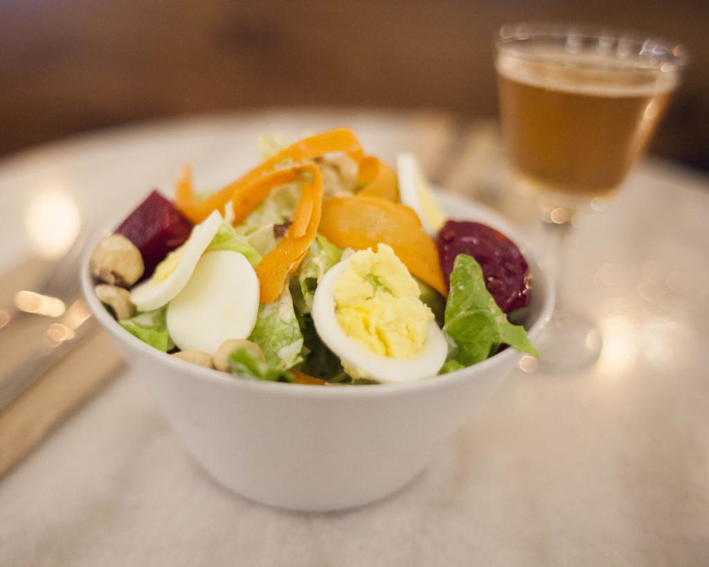 A salad at East Liberty Tap House, Wednesday November 18, 2015.