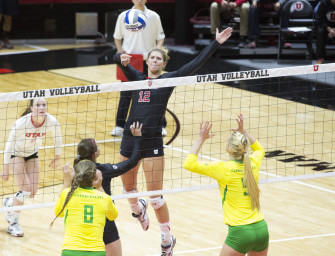 Volleyball: Utah Drops One, Wins One in Washington