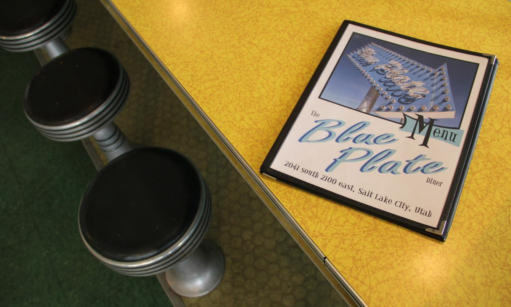A menu for the Blue Plate Diner sits on a counter in Salt Lake City, Monday, Sept. 28, 2015. Madeline Rencher, Daily Utah Chronicle.