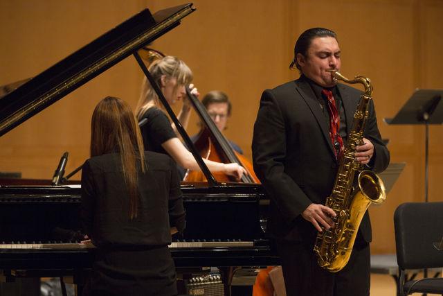 concert report tcu jazz combos