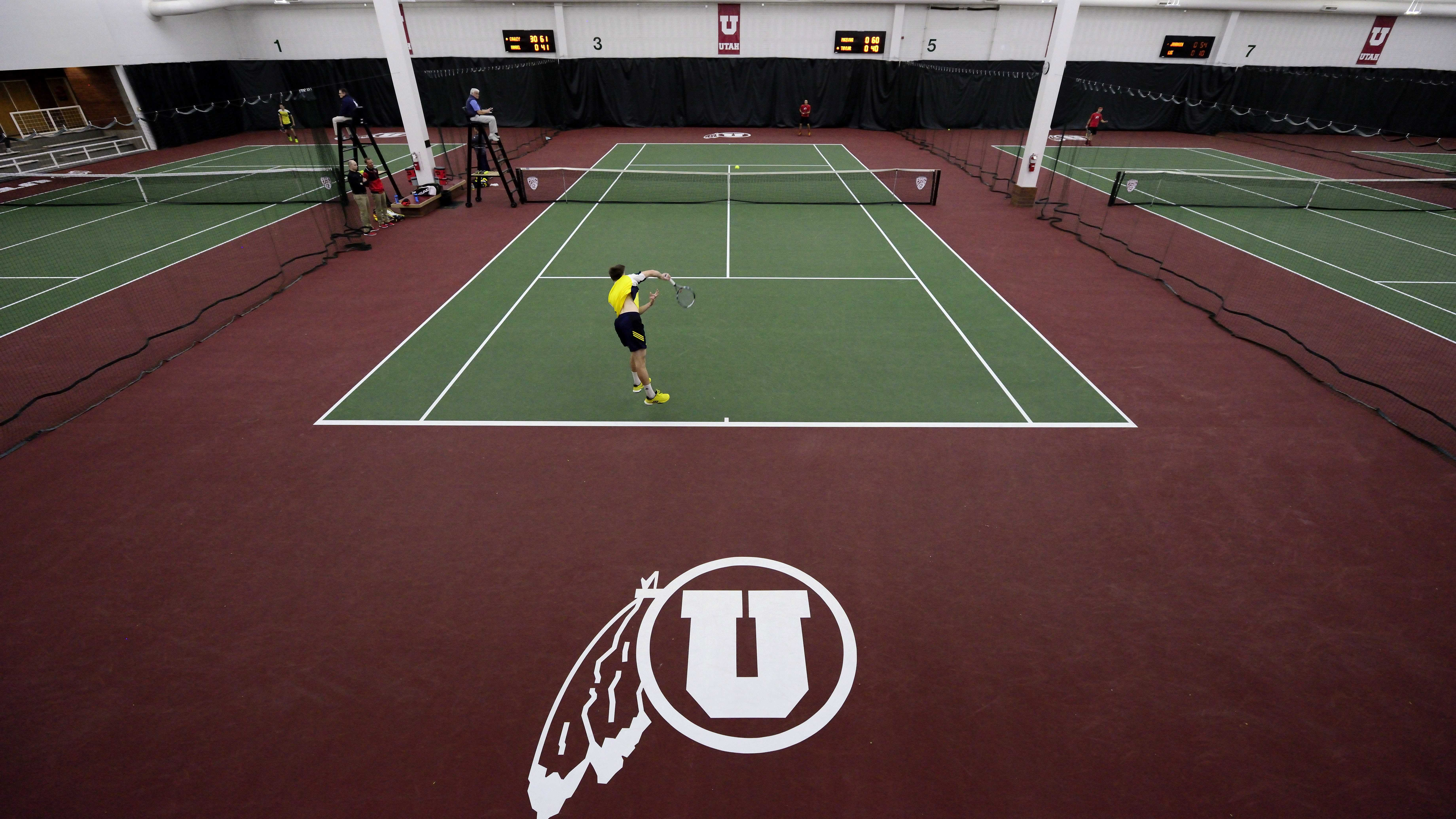 Men's Tennis: Utes Deliver Strong Performance in Home ...