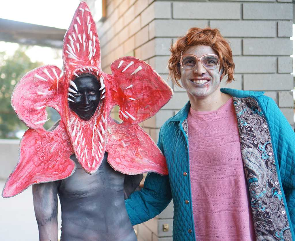 Stranger Things inside Abravanel Hall at the Utah Symphony Halloween Spooktacular in Salt Lake City Utah on Tuesday Oct. 25 2016.  sc 1 st  The Daily Utah Chronicle & Costumes Draw Crowds to Utah Symphony Spooktacular u2013 Daily Utah ...