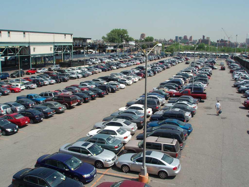 Old institute carpark