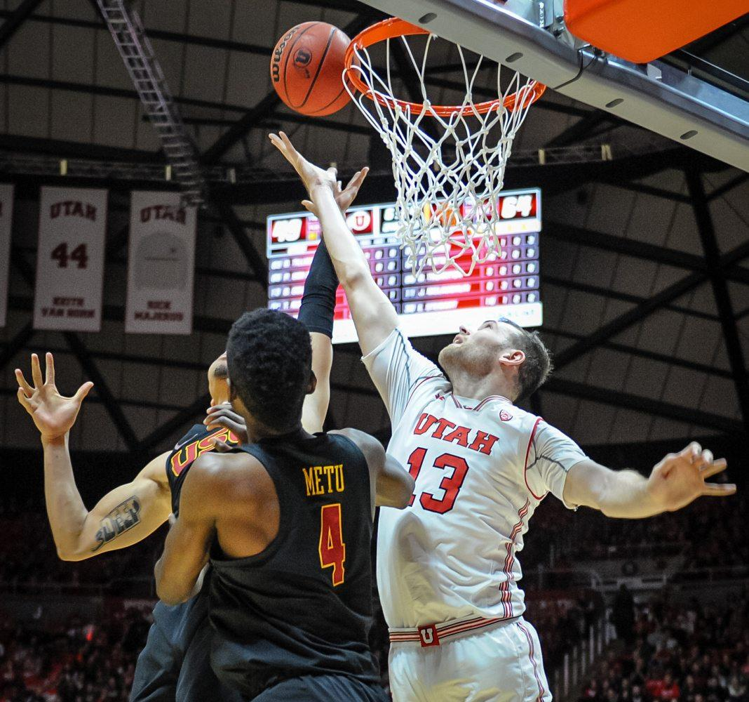 USC snaps Utah's five-game winning streak