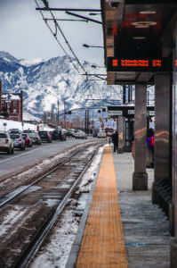 UTA Trax Station