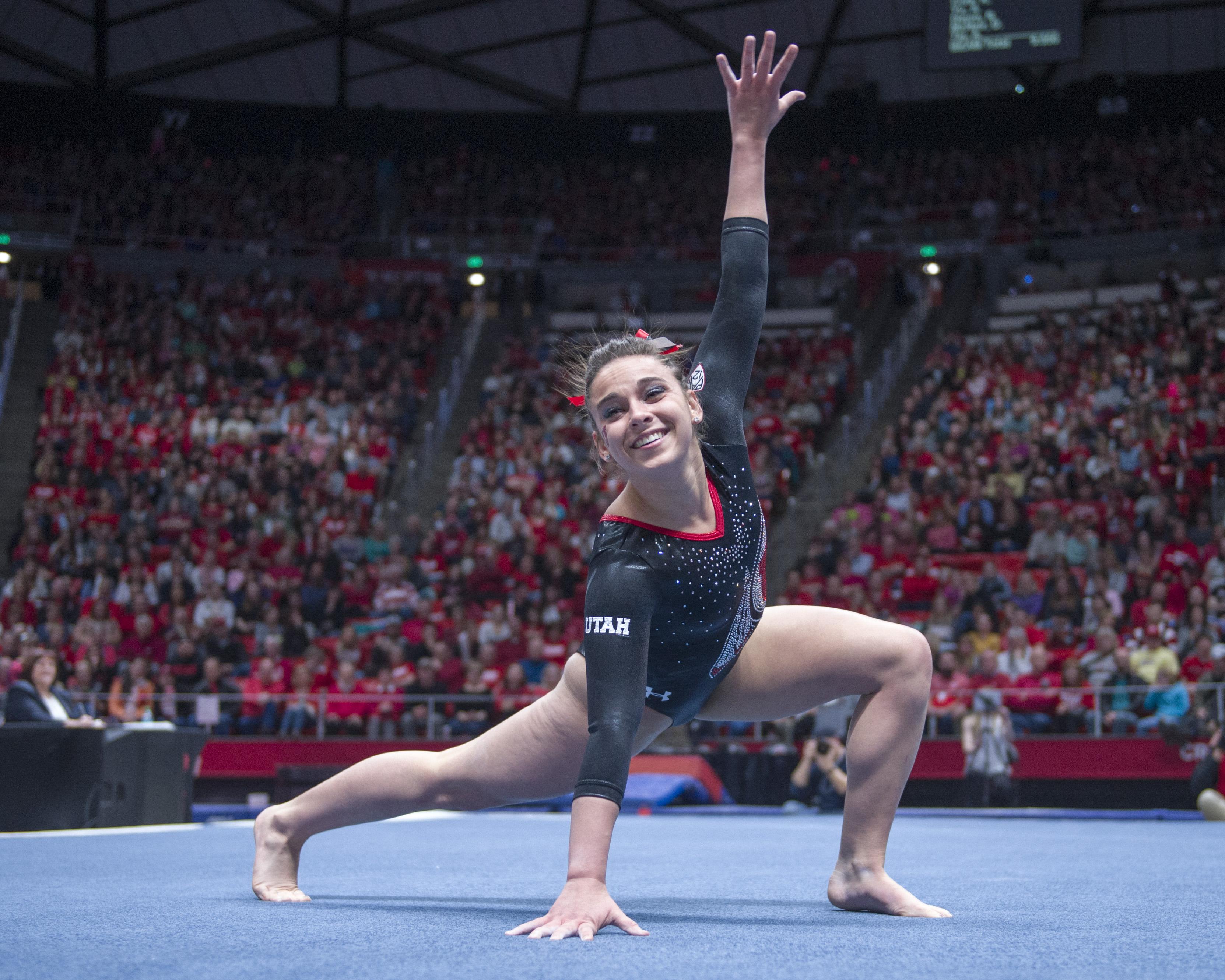 university of utah gymnastics meet