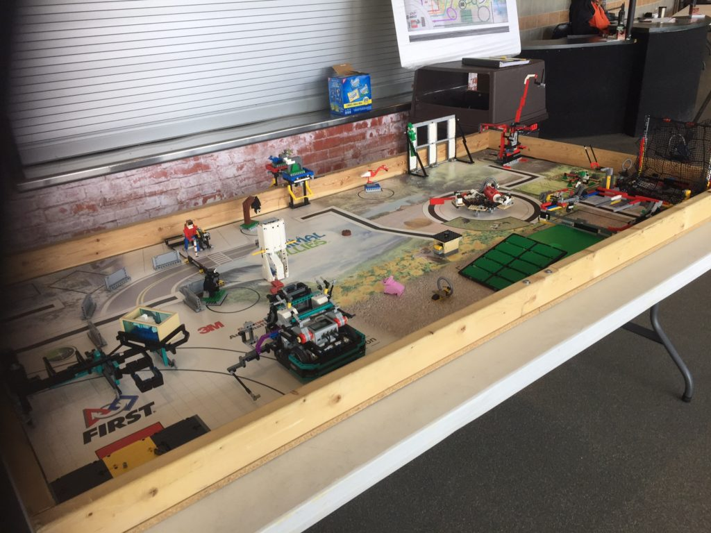 Blind students taking on competition in robotics event