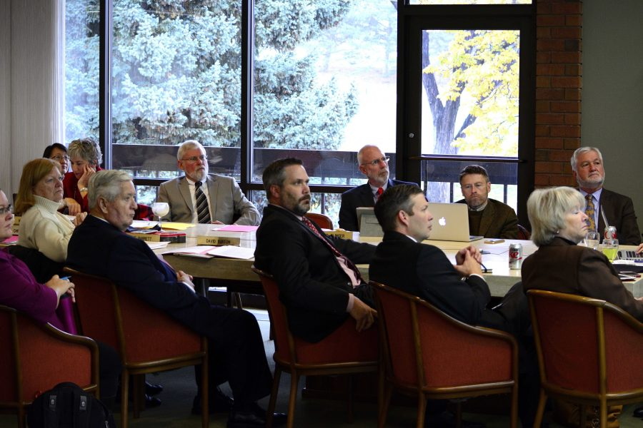 Board of Trustees Meeting at the Alumni House, Tuesday, November 10, 2015
