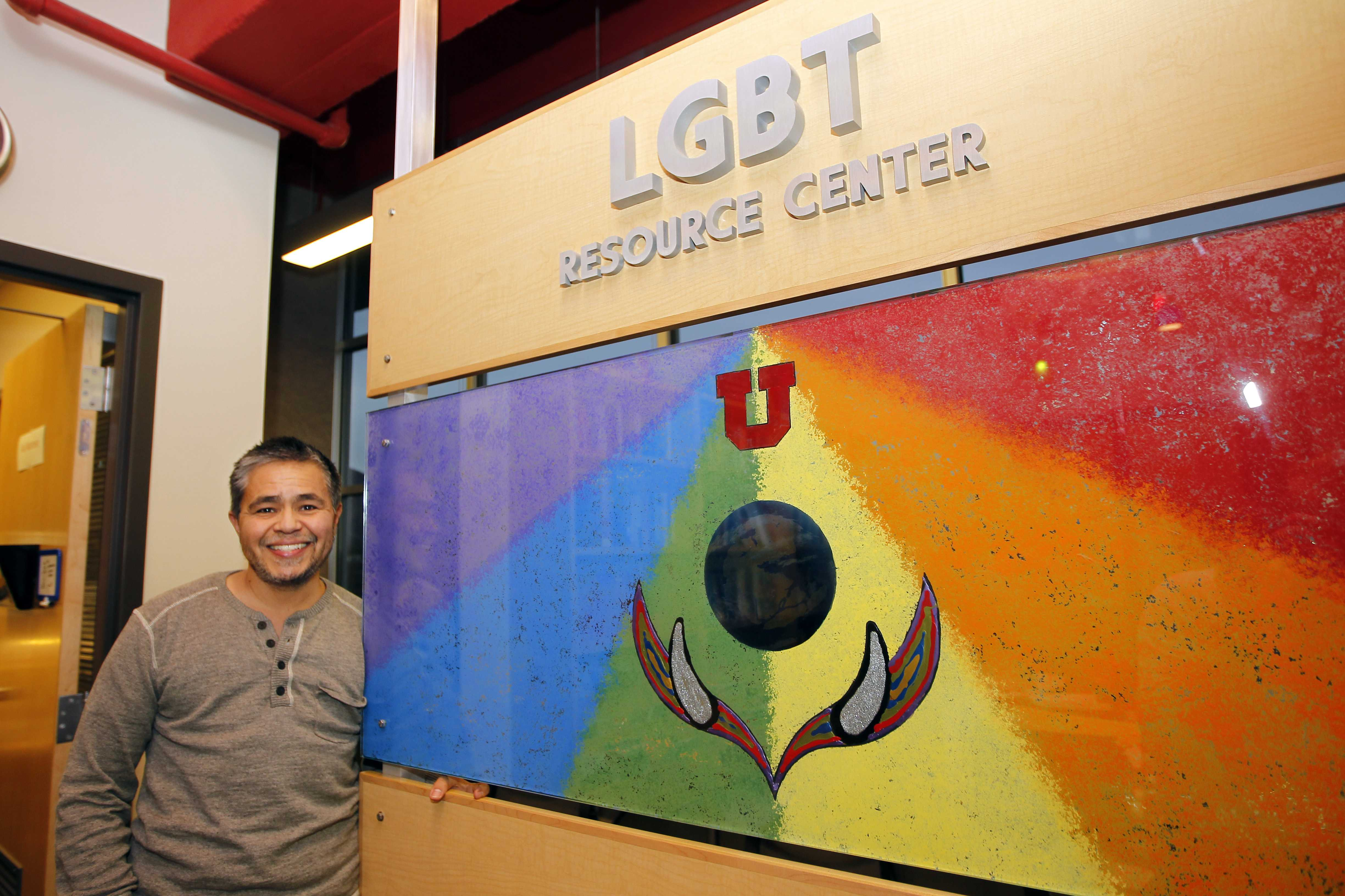 Kai Medina-Martinez is the director of the LGBT Resource Center at the University of Utah.