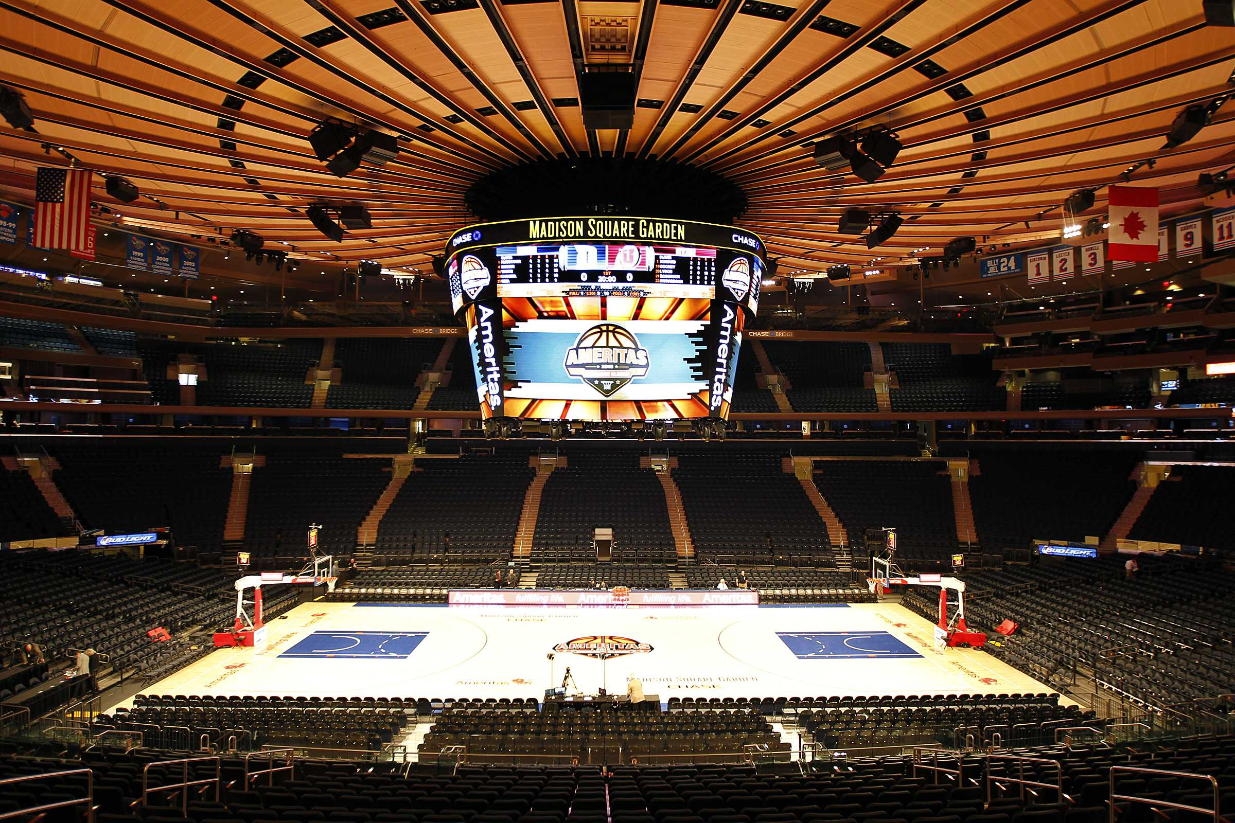 Madison Square Garden: Runnin' Utes Hold On To Upset No. 7 Duke 77-75 At Madison
