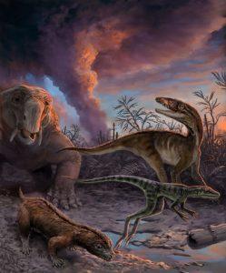 U Researchers Discover New Timeline for Dinosaurs' Ancestors