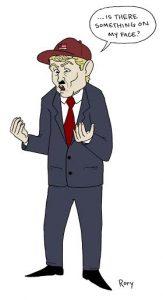 Political Cartoon: Trump