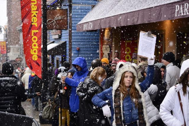 The Sundance Film Festival in Park City, Saturday, Jan. 23, 2016. Peter Creveling, Daily Utah Chronicle