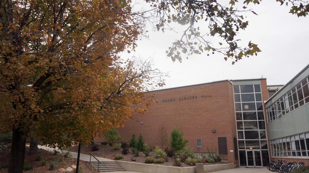Orson Spencer Hall at the U in Salt Lake City, Utah, Thursday, Oct. 29, 2015.