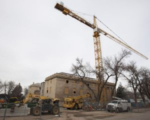 Construction to Expand, Upgrade George Thomas Building Begins