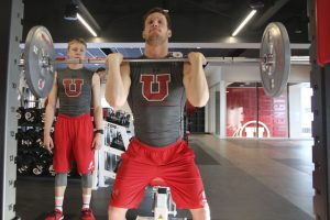 Swim & Dive: The Mobilizing Work the Utes Put in During Dry Land Practices