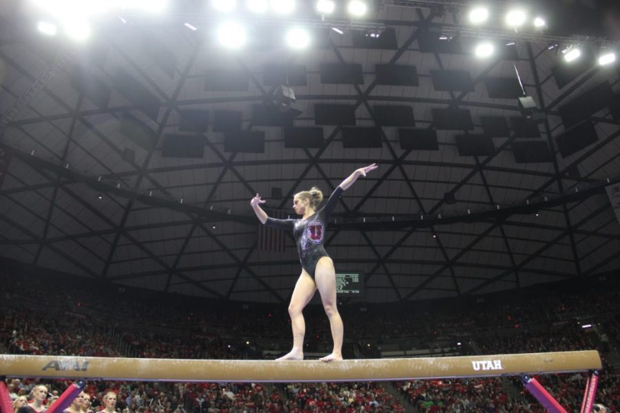 Gymnastics: No. 5 Red Rocks conquer No. 9 Georgia on Senior Night