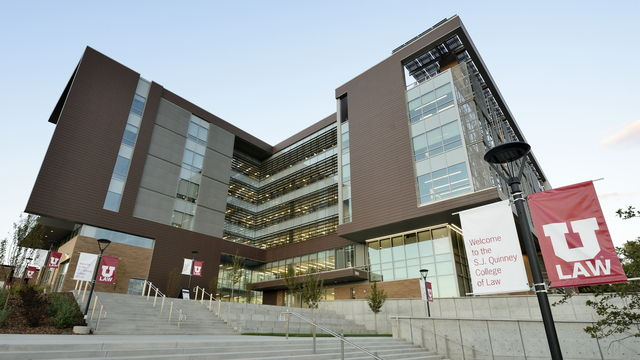 University of Utah S.J. Quinney College of Law Building on campus on Wednesday, Oct. 21, 2015