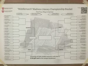 "English Department Hosts ""Middlemarch Madness"" To Take Brackets Beyond Basketball"