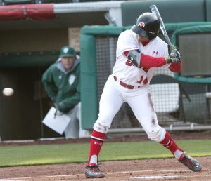 Baseball: Utes Looking To Get Back On Track Following Weekend Series Loss
