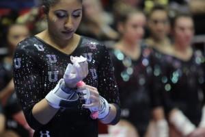 Gymnastics: Never-Quit Attitude A Bright Spot In Utah's Dismantling Loss