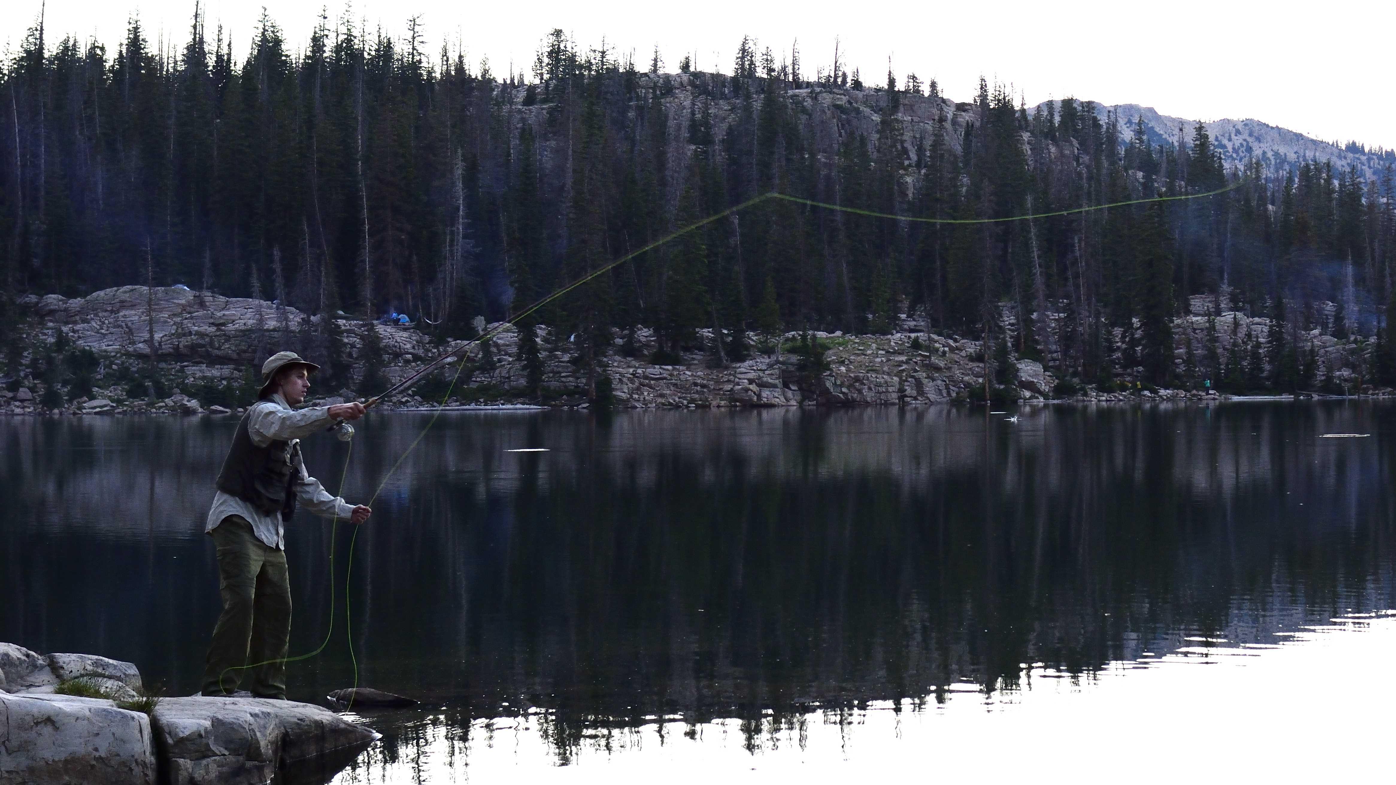 Fishing Hike