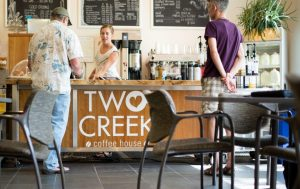 Two Creek Coffeehouse, Variety and Good Vibes