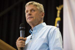 Libertarian Candidate Gary Johnson Still Going Strong