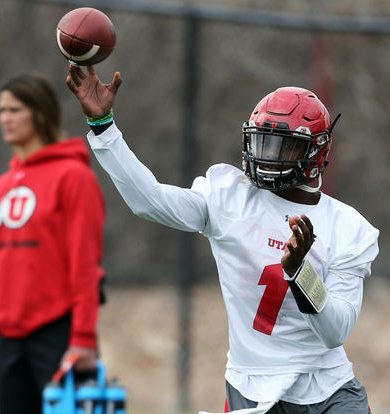 Huntley Named Utah Football Starting Quarterback