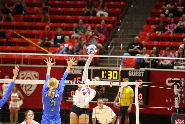 Volleyball: Utes defeat Rice, Missouri, Fall to Illinois State at Tiger Invitational