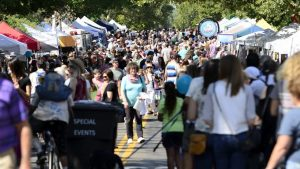Local Work Celebrated in Annual Street Fair