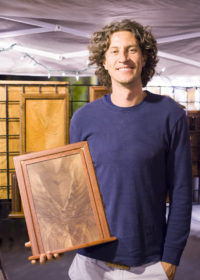 Charlie Hastings' displayed his woodwork of various types of wooden symmetry at Arts of the World Gallery on Friday, September 16, 2016
