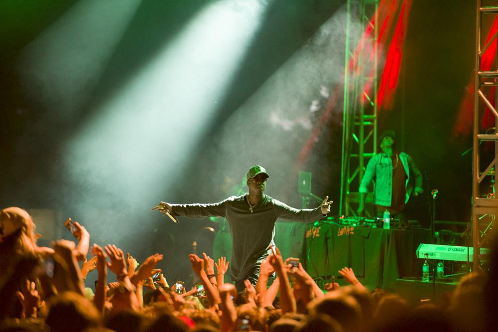 Jeremih performing at the University of Utah 2016 Redfest at the Student Union building plaza on Friday, September 16, 2016