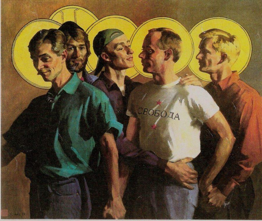 Randall Lake's Art Aims for LGBTQ Acceptance