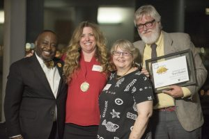 5 by 5: Departments Honor Five Distinguished Artists