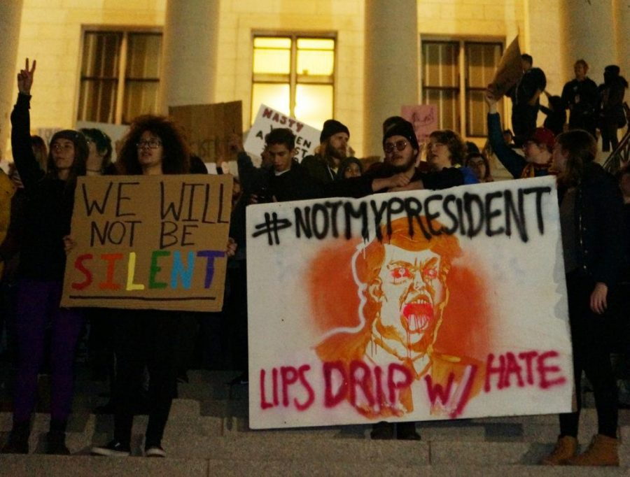 The+%22Say+No+to+Trump%27s+Agenda%22+protest+and+rally+in+Salt+Lake+City%2C+Utah+on+Thursday%2C+Nov.10%2C+2016.+%28Rishi+Deka%2C+Daily+Utah+Chronicle%29