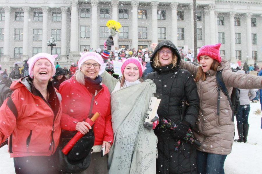 Womens March On The Capital 41