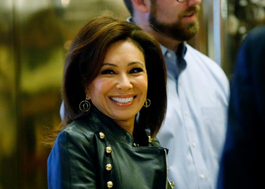 Jeanine Pirro Arrives At The Trump Tower For Meetings