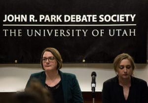 Debate Team Hosts Discussion on Ute Nickname, Circle and Feathers Logo