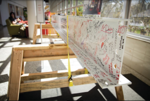 Students Sign Steel Beam to Commemorate OSH