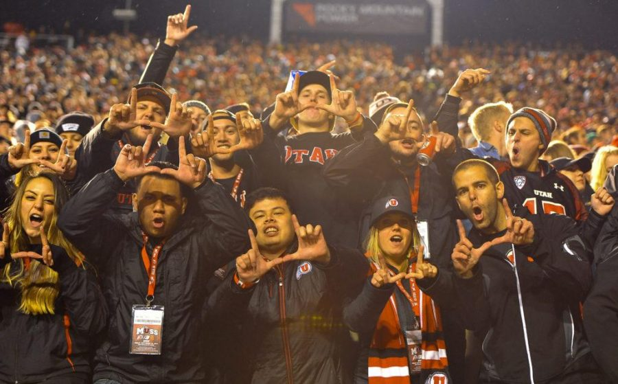 Fan reactions from The Utah Vs. USC game at Rice Eccles Stadium Friday September 23, 2016.