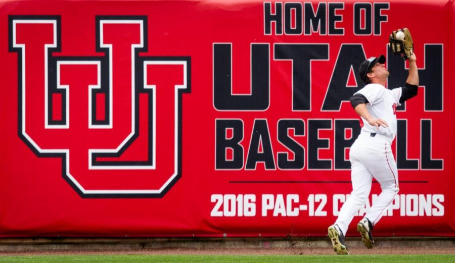 University+of+Utah+Baseball%27s+senior+outfielder+Josh+Rose+%2814%29+hauls+in+a+deep+fly+ball+in+an+PAC+12+Game+vs.+The+Arizona+State+Sun+Devils+at+The+Salt+Lake+Bee%27s+Stadium%2C+Salt+Lake+City%2C+UT+on+Friday%2C+May+26%2C+2017%0A%0A%28Photo+by+Adam+Fondren+%7C+Daily+Utah+Chronicle%29
