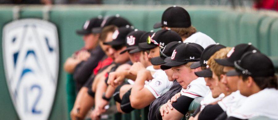 The University of Utah Baseball team in an PAC 12 Game vs. The Arizona State Sun Devils at The Salt Lake Bees Stadium, Salt Lake City, UT on Friday, May 26, 2017(Photo by Adam Fondren   Daily Utah Chronicle)