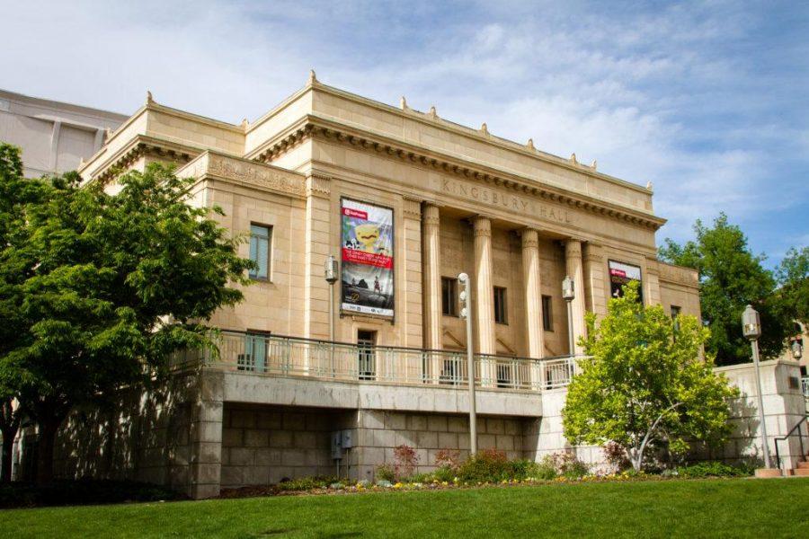 Kingsbury Hall at the University of Utah, Salt Lake City, UT 5/14/17.  Photo by Adam Fondren/Daily Utah Chronicle