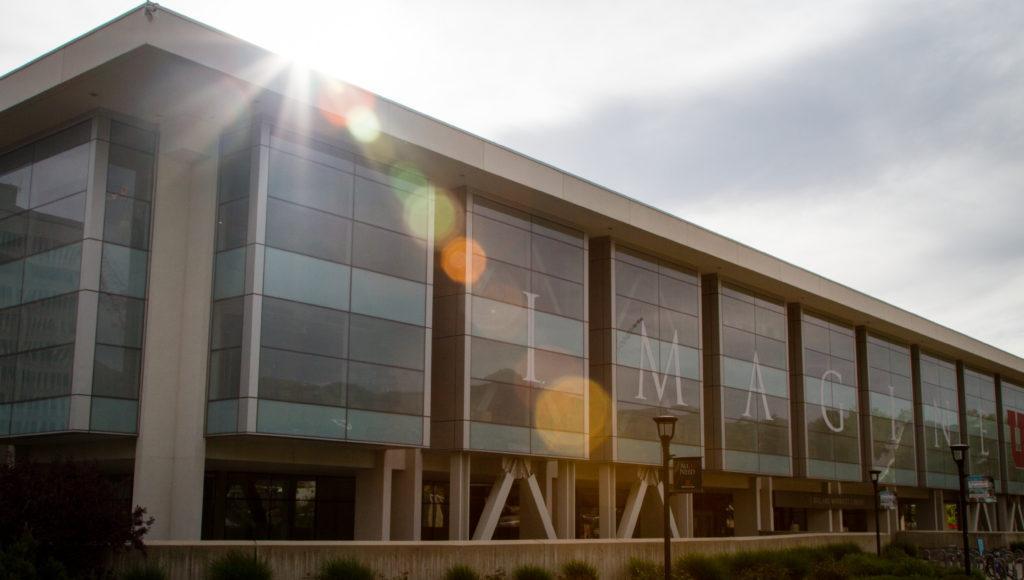 J Willard Marriott Library at the University of Utah, Salt Lake City, UT 5/14/17.  Photo by Adam Fondren/Daily Utah Chronicle