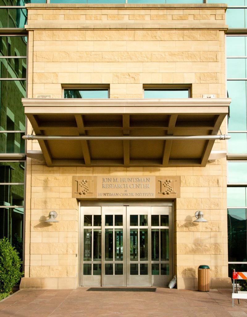 The Hunstman Cancer Institute at the University of Utah, Salt Lake City, UT 5/14/17.