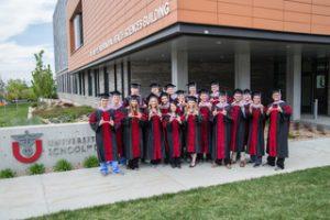 U School of Dentistry Graduates First Class