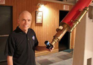 U's Patrick Wiggins Discovers Firework Galaxy Supernova