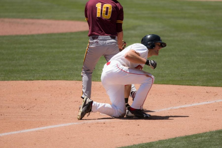 University+of+Baseball%27s+sophomore+outfielder+Chandler+Anderson+%2816%29+yelling+after+getting+out+in+an+NCAA+Regional+Game+vs.+Arizona+State+Sun+Devils+at+Salt+Lake+Bee%27s+Stadium%2C+Salt+Lake+City%2C+UT+on+Saturday%2CMay27%2C+2017%0A%0A%28Photo+by+Samira+Guirguis+%7C+Daily+Utah+Chronicle%29