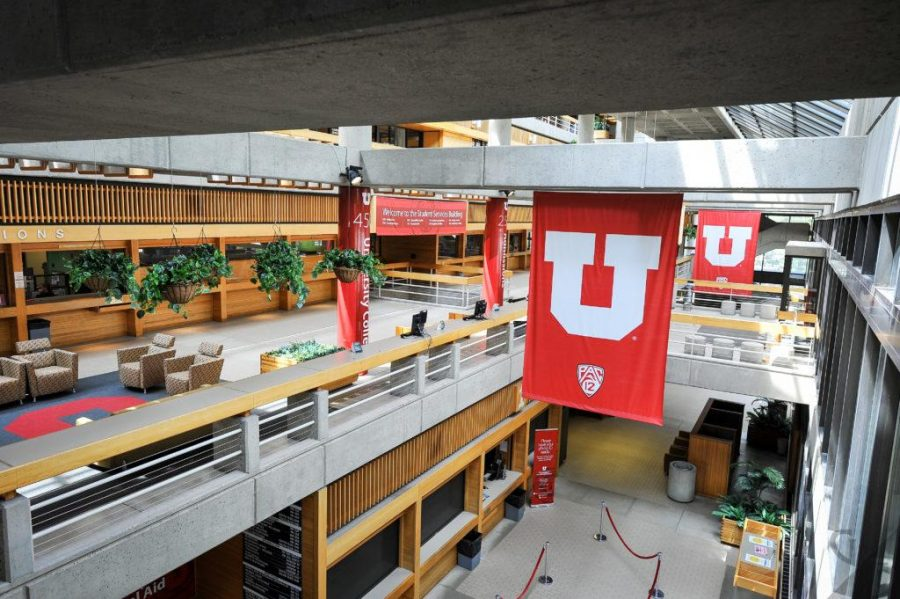 The+Student+Services+Building+on+the+University+of+Utah+Campus%2C+where+many+advising+appointments+are+held.+Chronicle+archives.